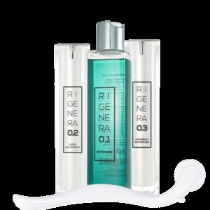 trattamento viso pelle secca rigenera