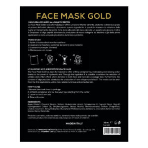 Rigenera Face Mask Gold